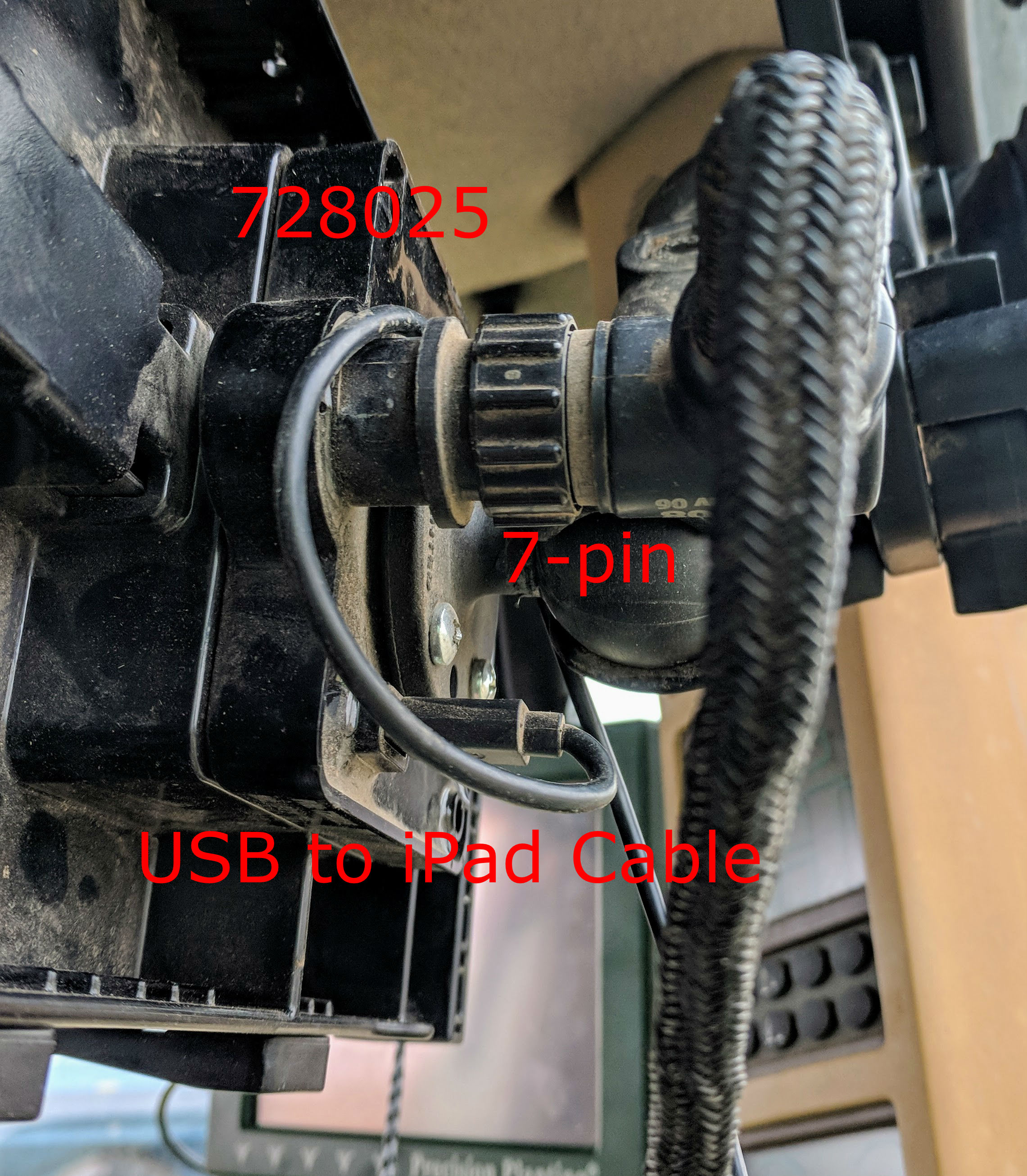 Gen 1 20 Planterology Ipad Wiring Harness The 7 Pin Connector End Of Fieldview Module Is Plugged Into 728025 Usually On Back Tray